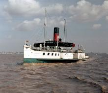 Paddle Steamer PS Lincoln Castle